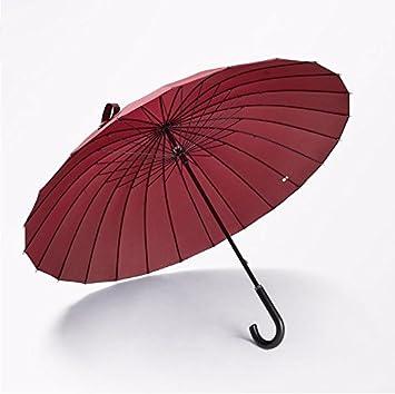 Baron W.H Palanca recta paraguas mango mango curvado mango recto grande doble sol paraguas paraguas,