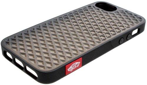 on sale c67fc c5be0 Vans iPhone 5 Waffle Case - Black/Black VPAC8D: Amazon.co.uk ...