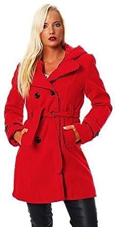 Manteau femme hiver avec ceinture