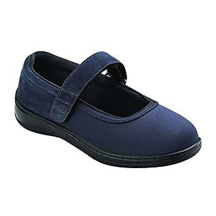 Orthofeet Springfield Womens Comfort Stretchable Orthopedic Orthotic Diabetic Mary Jane Shoes