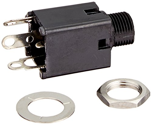 Switchcraft N112A 1/4-Inch PNL Jack with Tip Shunt Nylon