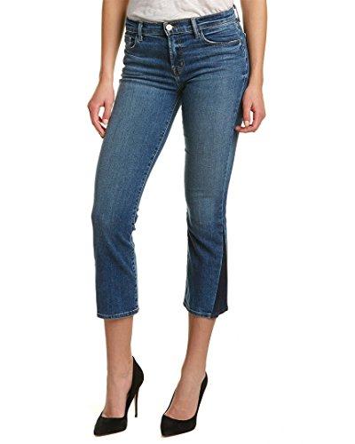 J Brand Jeans Women's Selena Mid Rise Crop Bootcut Jeans, Ascension, - Designer Boot Brands
