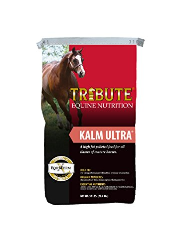 Kalmbach Feeds Tribute Kalm Ultra for Horse, 50 lb