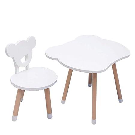 Mhjmijb Tabla niños y Juego de sillas, Multiusos de la Actividad ...