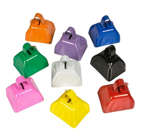 3'' METAL COWBELLS, Case of 144 by DollarItemDirect