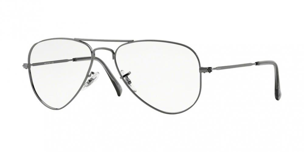 e6c950cbce Ray Ban Rx6049 Aviator Eyeglasses-2502 Gunmetal-55Mm Gunmetal Frame mm   Amazon.co.uk  Health   Personal Care