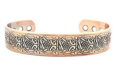 MPS® DAMIAN Pure Copper Magnetic Bangle - Arthritis Pain Treatment 5Mhfyh