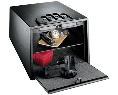 GunVault Deluxe Multi Vault Safe 14X10X8 Black GV2000C-DLX by AWM