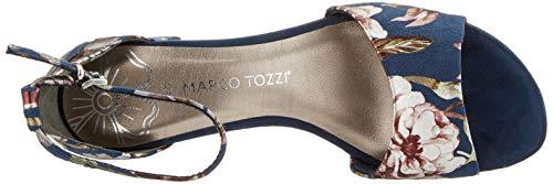 MARCO TOZZI 2-2-28316-22, Sandali con Cinturino alla Caviglia Donna