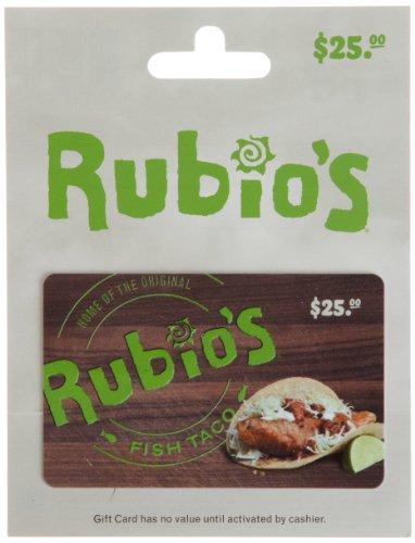 Rubios Gift Card  25