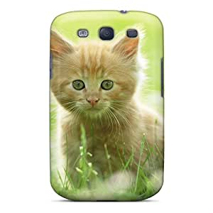 IOaKeXW6818WAKXu Marthaeges Awesome Case Cover Compatible With Galaxy S3 - Cute Kitten