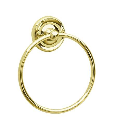 (Smedbo SME V244 Towel Ring, Polished Brass,)