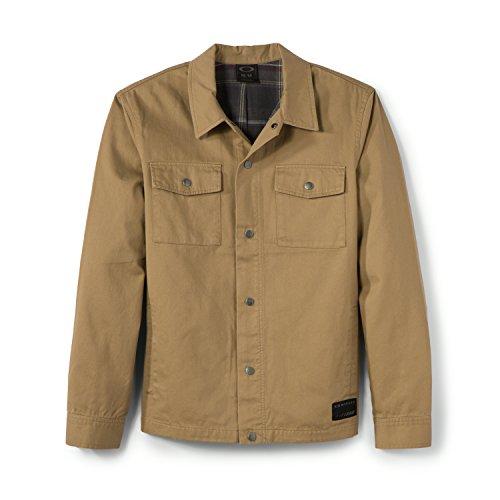 Oakley Men's Shway Jacket Antique Bronze Size Medium