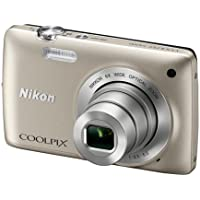 Nikon COOLPIX S4200 16.0 MP Digital Camera (Silver)