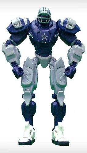 (NFL Dallas Cowboys Fox Sports Team Robot, 10-inches)