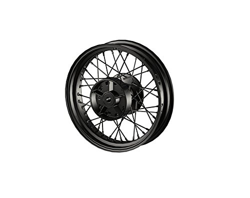 Laced Wheel (2015-2016 GENUINE INDIAN SCOUT BLACK LACED REAR WHEEL 16