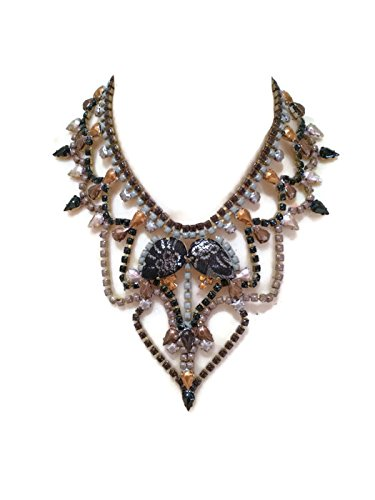 sass-my-bide-painted-rhinestone-chain-bib-necklace