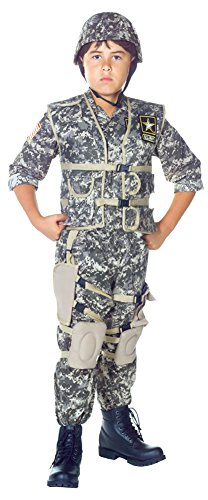[Boys - Us Army Ranger Kids Costume Lg 10-12 Halloween Costume] (Us Army Costumes)