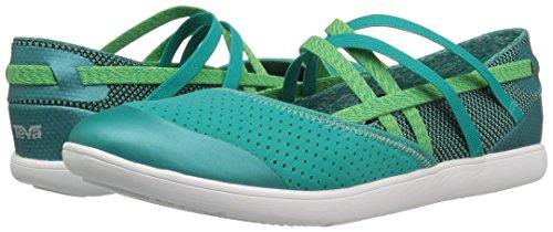 verde Mujer para Teva Pantuflas Hydro Life azulado sin Oasis Cordones Mujer p0wzBq01