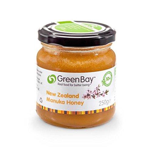 Green Bay RAW miel de Manuka 10+ 227g NPA: Amazon.es: Alimentación y ...