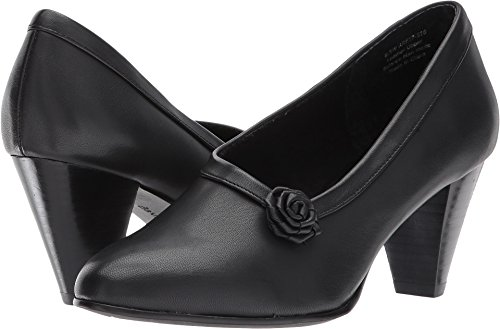 David Tate Women's Kelly Black Leather 11 E US