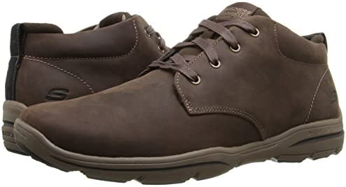 top-rated genuine many fashionable outstanding features Skechers USA Men's Harper Meldon Chukka Boot, Chocolate, 8 M ...