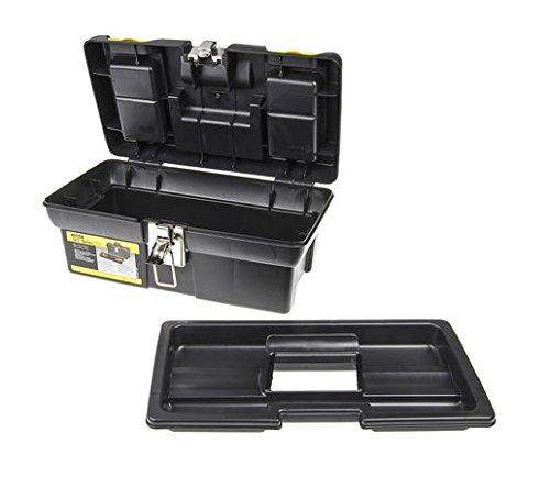 32cm STANLEY 1-92-064 Caja de herramientas millenium con cierres met/álicos