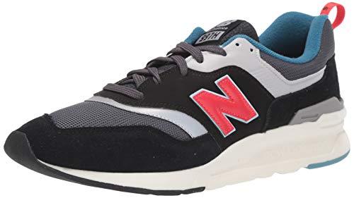 New Balance Men's 997H V1 Sneaker, Magnet/Energy RED, 10 D US
