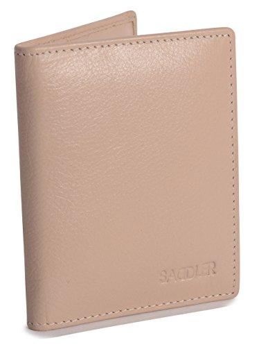 SADDLER Leather Credit Bifold Wallet
