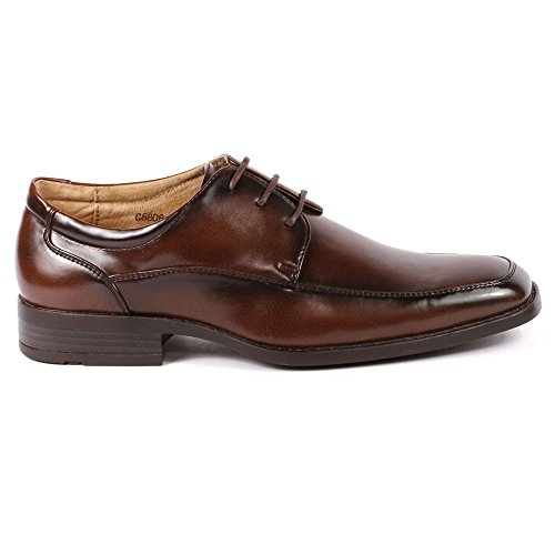 Miko Lotti G5808-7 Hommes Marron Lacets Robe Robe Classique Oxford Chaussures
