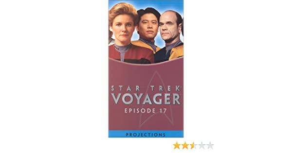 Amazon.com: Star Trek - Voyager, Episode 17: Projections [VHS ...