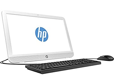 "2017 Flagship Model HP 24"" FHD (1920x1080) Premium High Performance All-In-One WLED-Backlit Desktop, Intel Dual Core i3-6100T (3.2 GHz), 8GB RAM, 1TB HDD, Windows 10"