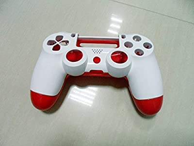 White+Red Replace Housing Shell Case Cover Compatible for PlayStation PS 4 PS4 Controller DualShock 4 from Huizhou City Junsi Electronics Co., Ltd.