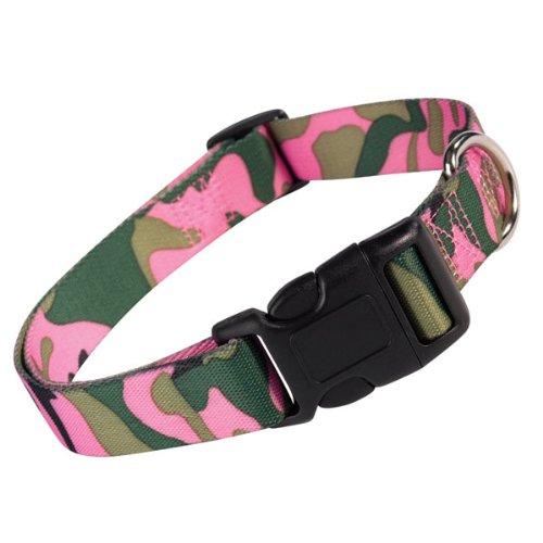 Guardian Gear Nylon Camo Dog Collar, 10-16-Inch, Multi-Color