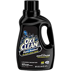 Best Epic Trends 41BJ3SUrDAL._SS300_ OxiClean Dark Protect Liquid Laundry Additive, 50 oz.
