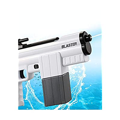 LLHAI Electric Water Gun Toy, Super Blaster Water Toy, Removable Water Pistols for Over 3 Years Old Kids, Outdoor Water Battle Pool Beach Party,Blue: Sports & Outdoors