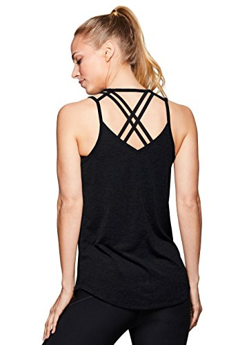 RBX Active Women's Yoga Workout Tank Top F18 Black M (Importance Of A Cool Down In Sport)