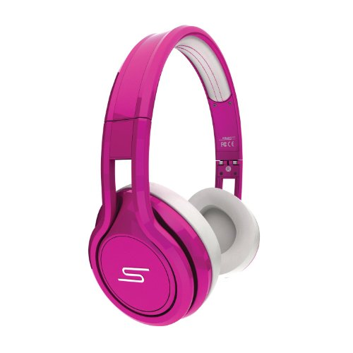 SMS Audio STREET by 50 Cent On-Ear Limited Edition Headphones - Pink