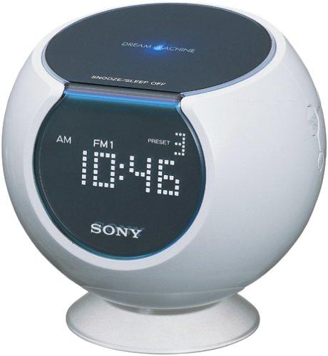 Sony CLOCK - Radio (Reloj, Digital, 87,5-108 MHz, 531-1602 kHz, 153-279 kHz, Blanco): Amazon.es: Electrónica