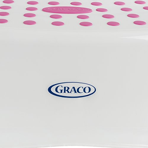 Graco Sure Foot Step Stool White Pink Baby Toddler Baby