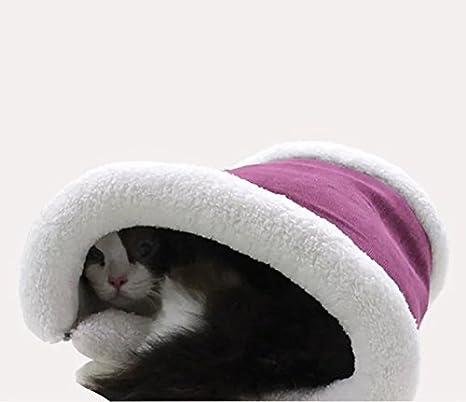 WandLee Mascota Cama y túnel, Lavable cómodo casa para Gatos, Gatos, Cachorros - Mejores para Interior, Exterior y Viajar: Amazon.es: Hogar
