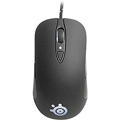7233be20e17 Amazon.com: SteelSeries Sensei Laser Gaming Mouse RAW - Rubberized Black:  Computers & Accessories