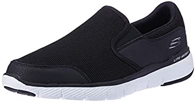 Skechers Australia Flex Advantage 3.0 - OSTHURST Men's Walking Shoe, Black, 7 US
