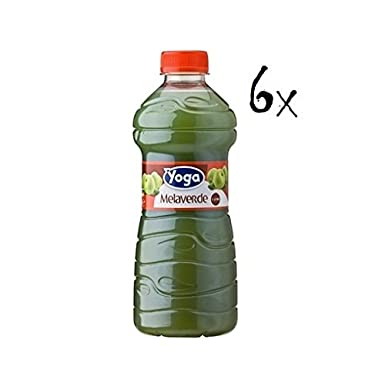 6x Yoga Green Apple Fruit Juice Drink Beverage 1l: Yoga ...