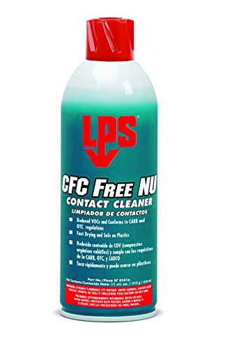 LPS CFC Free NU Contact Cleaner, 11 oz Aerosol (Pack of 12) by LPS