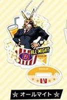 【オールマイト】スタンドミニアクリルキーホルダー 僕のヒーローアカデミア フードシリーズの商品画像