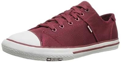 BOBS from Skechers Men's Legacy Vulc Inov8 Fashion Sneaker,Burgundy,10 M US