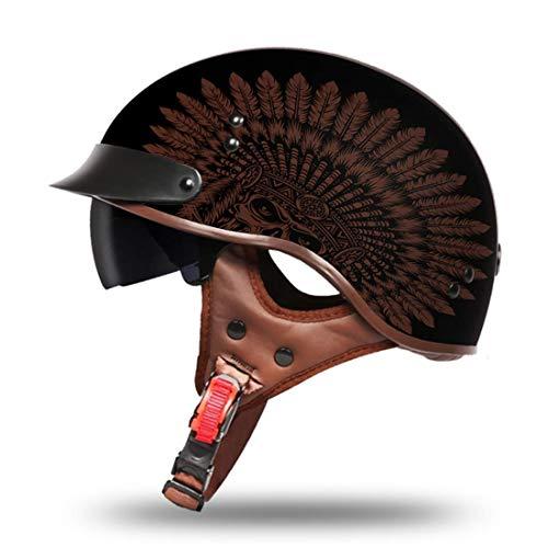 VCOROS Motorcycle Half Helmet