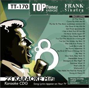 Top Tunes Karaoke CDG Frank Sinatra TT-170 (Tunes Karaoke Top)