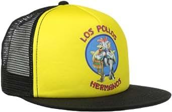 Breaking Bad Men's Los Pollos Hermanos Foam Front Trucker, Yellow, One Size